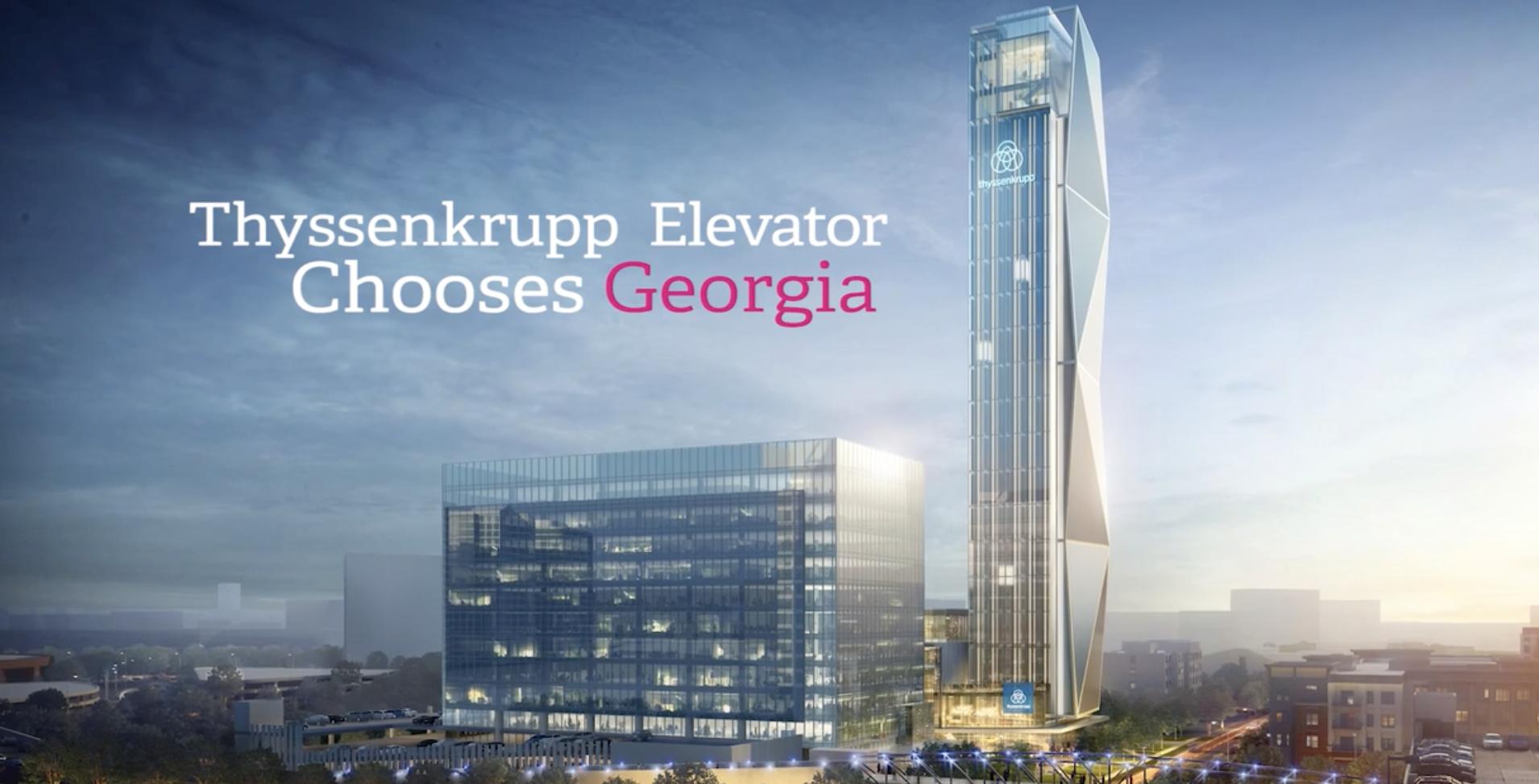 Going Up! How thyssenkrupp Chose Atlanta | Select Georgia